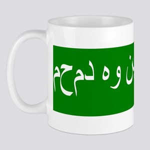 Mohammed is a false prophet(bumper stic Mug
